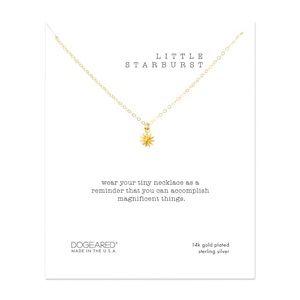 Dogeared Little Starburst Necklace